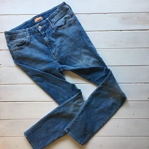 "Mother Brand ""High Waisted Looker"" Denim Jeans"